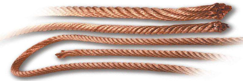 stranded copper wires